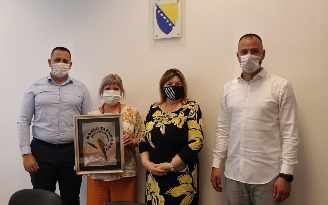Delegacija Taekwondo saveza u posjeti MCP BiH