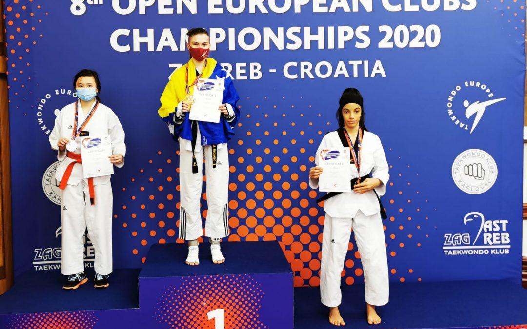 Šest medalja za bh. takmičare drugog dana 8. Evropskog klupskog prvenstva u Zagrebu