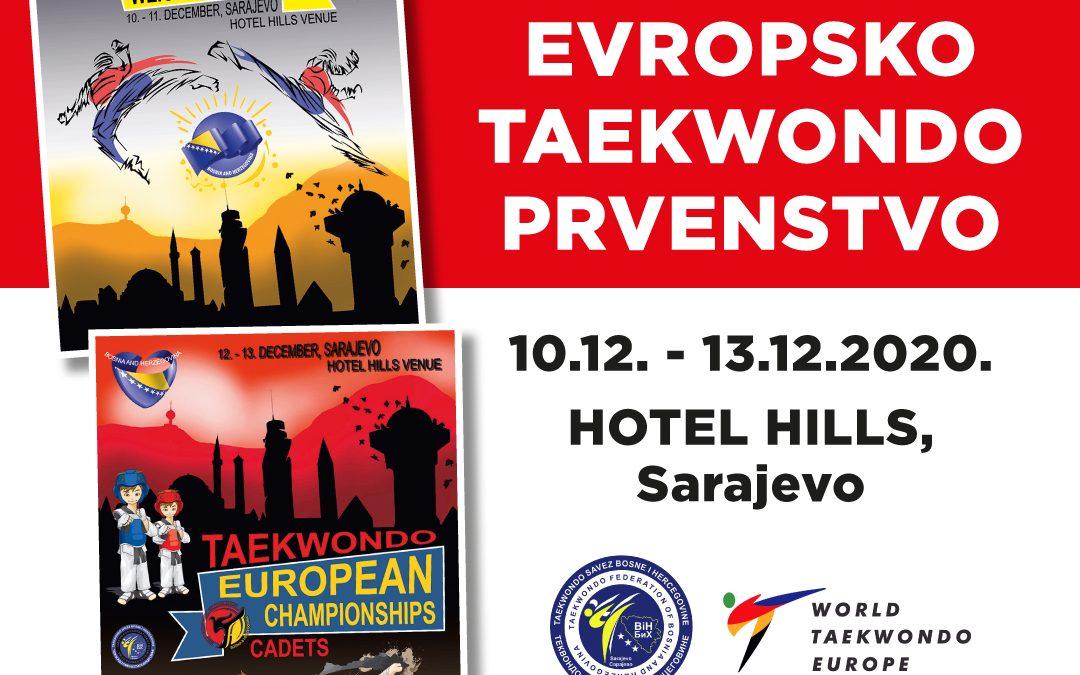 Bosna i Hercegovina domaćin dva evropska Taekwondo prvenstva u decembru