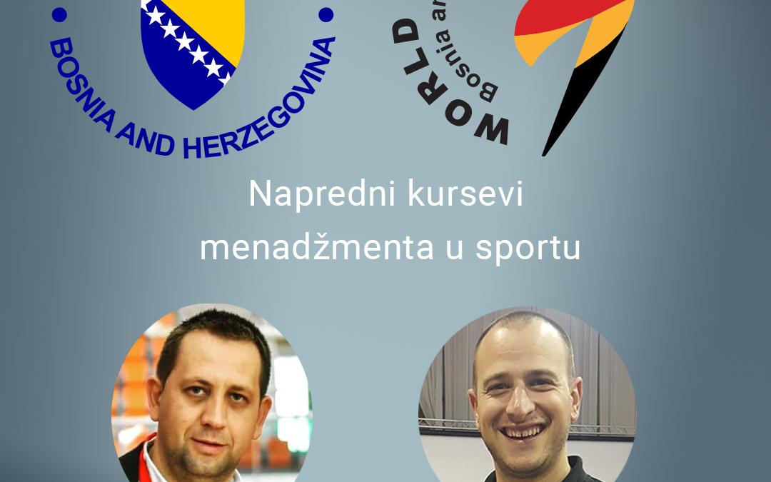 """Predstavnici Taekwondo saveza BiH završili """"Napredni kurs menadžmenta u sportu"""""""