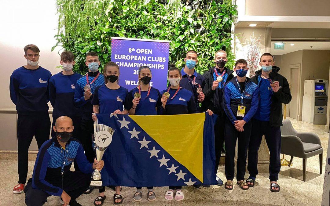 15 medalja za bh. takmičare na 8. Otvorenom evropskom klupskom prvenstvu u taekwondou