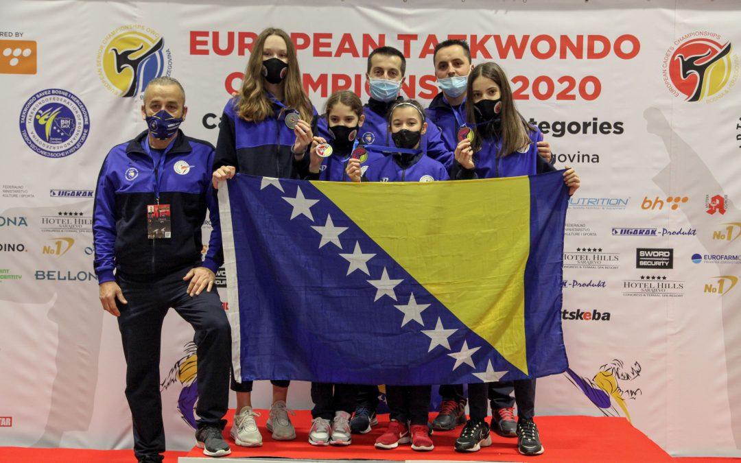 Bh. taekwondoisti odlični na novim ranking listama