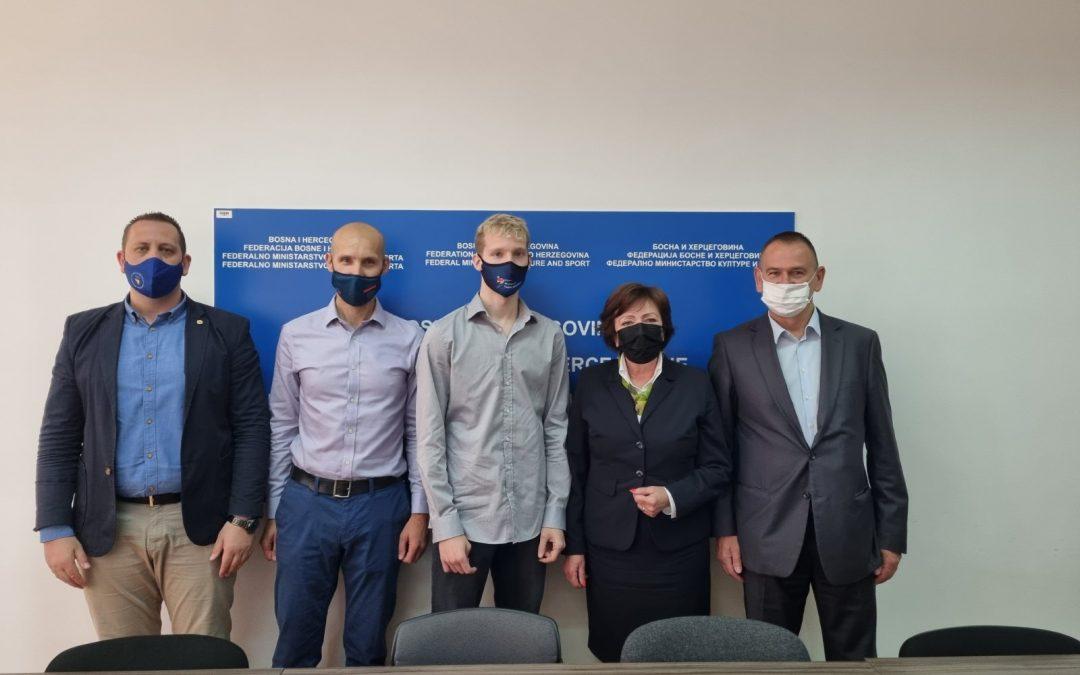 Ministrica Zora Dujmović primila delegaciju Taekwondo saveza BiH