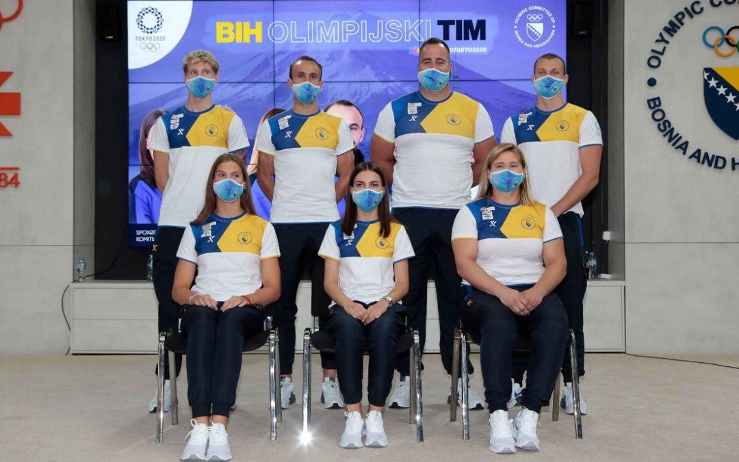 Predstavljen bh. tim za Olimpijske Igre u Tokiju