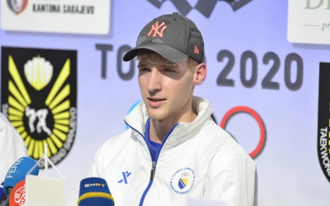 Nedžad Husić stigao u Sarajevo: Na narednim Igrama želim osvojiti medalju