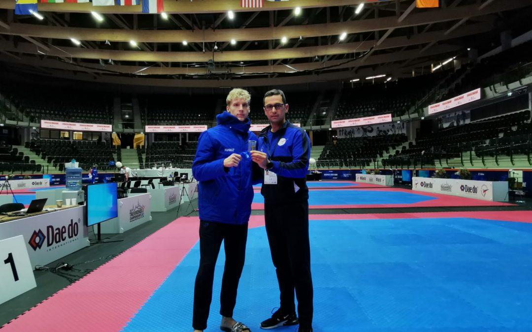 Nedžad Husić prvak Evrope u olimpijskom taekwondou do 21 godine