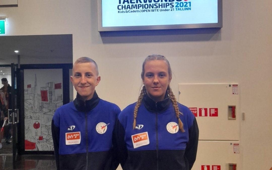 Emina Višnjić i Ahmed Čavrk putuju na Evropsko prvenstvo uz podršku BH Telecom